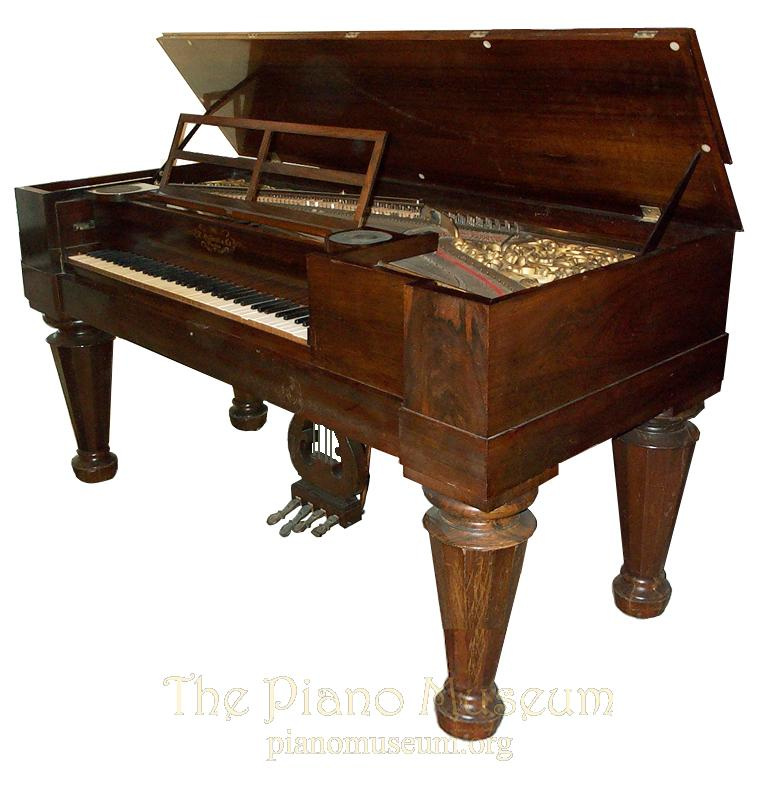 Gilbert Square With Melodeon #5730: The Piano Museum